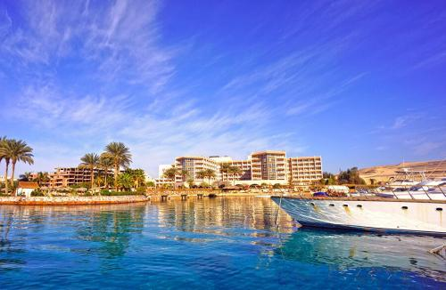 KING TUT AQUA PARK BEACH RESORT 4 * - Hurgada, Egiptas